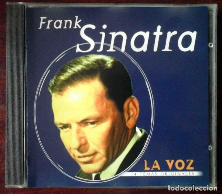 CD: FRANK SINATRA - LA VOZ - 14 TEMAS ORIGINALES (Música - CD's Melódica )