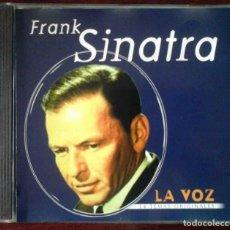CDs de Música: CD: FRANK SINATRA - LA VOZ - 14 TEMAS ORIGINALES. Lote 256087665