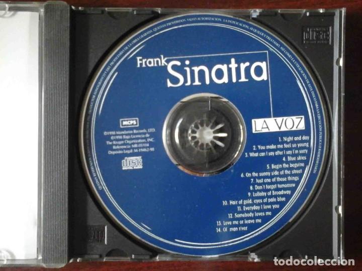 CDs de Música: CD: Frank Sinatra - La Voz - 14 temas originales - Foto 2 - 256087665