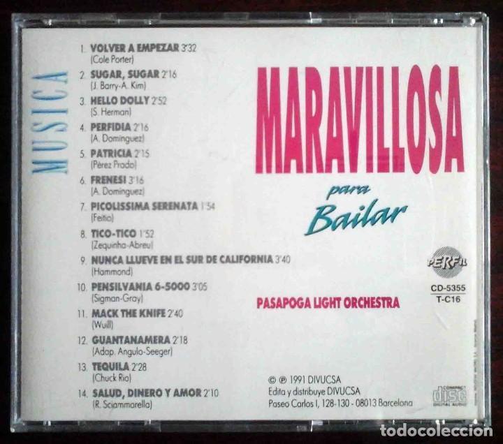 CDs de Música: CD: Música maravillosa para bailar - Pasapoga Light Orchestra. - Foto 3 - 256088190