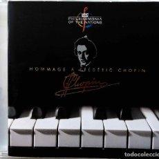 CDs de Música: CHOPIN. HOMMAGE A FREDERIC CHOPIN. JUSTUS FRANTZ.ALEXANDRE LUSZCZEWSKI.MOGILEVSKY. CD MONT BLANC. Lote 256104725
