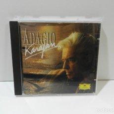 CDs de Música: DISCO CD. BERLINER PHILHARMONIKER, HERBERT VON KARAJAN – ADAGIO. COMPACT DISC.. Lote 256123750