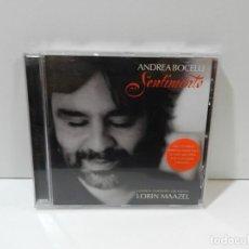 CDs de Música: DISCO CD. ANDREA BOCELLI, LONDON SYMPHONY ORCHESTRA, LORIN MAAZEL – OH QUAND JE DORS. COMPACT DISC.. Lote 256124210