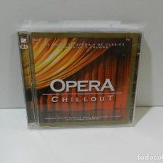 CDs de Música: DISCO 2 X CD. OPERA CHILLOUT. COMPACT DISC.. Lote 256124400
