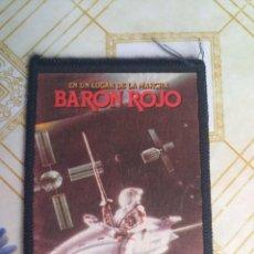 CDs de Música: PARCHE TELA MÚSICA BARÓN ROJO HEAVY METAL. Lote 256138005
