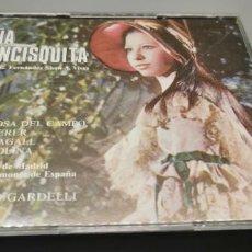 CDs de Música: CD DOBLE DOÑA FRANCISQUITA. Mª ROSA DEL CAMPO, JAIME ARAGALL..ALHAMBRA 1987 (BUEN ESTADO). Lote 256147025