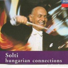 CDs de Música: SIR GEORG SOLTI,BARTOK,DANZAS FOLKLORICAS RUMANAS Y 2 TEMAS MAS CD SINGLE PROMO. Lote 256160215
