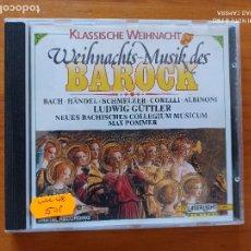 CDs de Música: CD BAROQUE CHRISTMAS MUSIC - WEIHNACHTSMUSIK DES BAROCK (5J). Lote 256162415