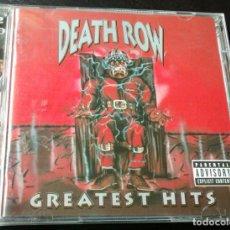 CDs de Música: (NUEVO) DEATH ROW DEATHROW GREATEST HITS HIP HOP DOBLE DISCO 2 CDS EDICIÓN ESPAÑOLA AÑO 2001. Lote 256378410
