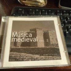 CDs de Música: MÚSICA MEDIEVAL 2. Lote 257264800
