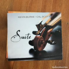 CDs de Música: KEVIN BURKE & CAL SCOTT - SUITE - CD LOFTUS 2010. Lote 257276200