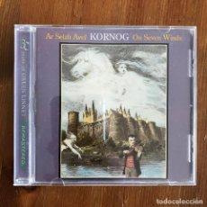 CDs de Música: KORNOG - AR SEIZH AVEL - ON SEVEN WINDS (1985) - CD GREEN LINNET 2007. Lote 257277945