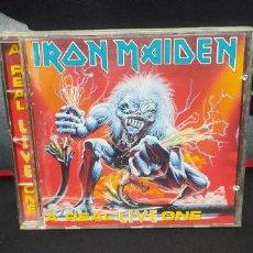 CDs de Música: IRON MAIDEN - A REAL LIVE ONE BUEN ESTADO. Lote 257324715