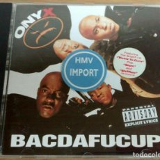 CDs de Musique: ONYX BACDAFUCUP PRIMERA EDICIÓN USA AÑO 1993. Lote 257330560