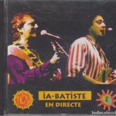 CDs de Música: IA-BATISTE CD EN DIRECTE 1993 PDI. Lote 257339325