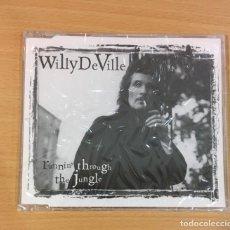 CDs de Música: CD EP DE WILLY DEVILLE - RUNNIN´THROUGH THE JUNGLE. WARNER MUSIC, 1996. PRECINTADO. Lote 257339840