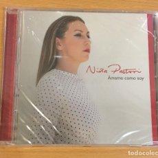 CDs de Música: CD DE NIÑA PASTORI - ÁMAME COMO SOY. SONY MUSIC, 2017. PRECINTADO. Lote 257341970