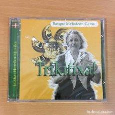 CDs de Música: CD EUSKAL HERRIKO MUSIKA - TRIKITIXA!. ELKARLANEAN. PRECINTADO. Lote 257342380