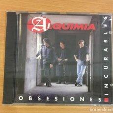 CDs de Música: CD DE ALQUIMIA - OBSESIONES INCURABLES. DIVUCSA, 1992. PRECINTADO. Lote 257343315
