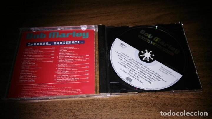 CDs de Música: BOB MARLEY - SOUL REBEL (EARLY YEARS RECORDINGS) - Foto 2 - 257378555