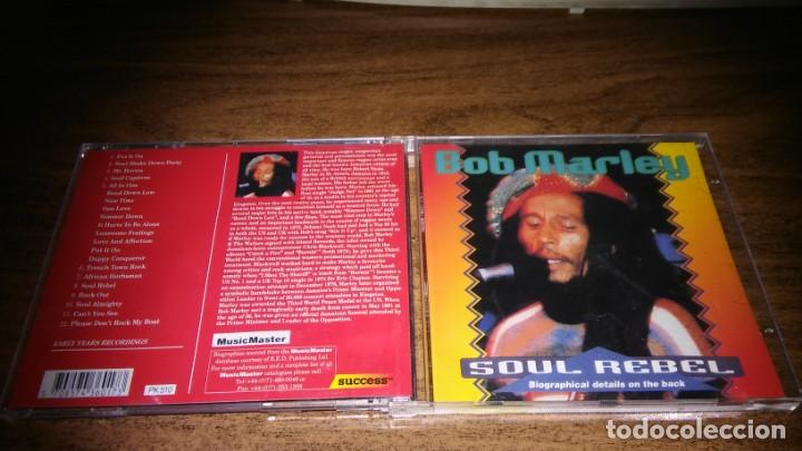 BOB MARLEY - SOUL REBEL (EARLY YEARS RECORDINGS) (Música - CD's Reggae)