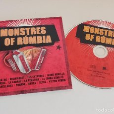 CDs de Música: MONSTRES OF RÚMBIA / VARIOS GRUPOS / CD - EDR-2015 / 20 TEMAS / IMPECABLE.. Lote 257417815