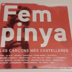 CDs de Música: FEM PINYA / LES CANÇONS MÉS CASTELLERES / CD - EDR-2013 / 19 TEMAS / PRECINTADO.. Lote 257418015