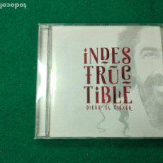CDs de Música: INDESTRUCTIBLE. DIEGO EL CIGALA. CD 2016. Lote 257423275