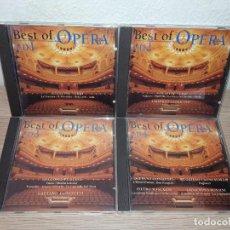 CDs de Música: COLECCIÓN 4 CDS BEST OF OPERA PLACIDO DOMINGO JOSÉ CARRERAS LUCIANO PAVAROTTI........ Lote 257477005