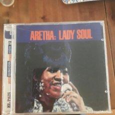 CDs de Música: ARETHA FRANKLIN - LADY SOUL (1968) - CD ATLANTIC SPAIN 2004 - EL PAÍS LOS DISCOS DE TU VIDA. Lote 257480230