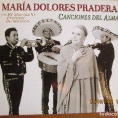 CDs de Música: MARIA DOLORES PRADERA - CANCIONES DEL ALMA CD -RCA - BMG - AÑO 2003. Lote 257545650
