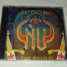 CDs de Música: CD ÑU - VEINTE AÑOS Y UN DÍA. Lote 257580525