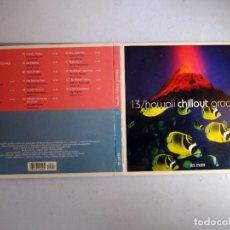 CDs de Música: CD HAWAII CHILLOUT GROOVES. Nº 13 COLECCIÓN EL PAÍS, 2008.. Lote 257627610