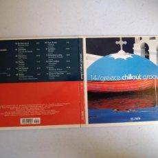 CDs de Música: CD GREECE CHILLOUT GROOVES. Nº 14 COLECCIÓN EL PAÍS, 2008.. Lote 257627850