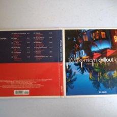 CDs de Música: CD THE MIAMI CHILLOUT LOUNGE. Nº 16 COLECCIÓN EL PAÍS, 2008.. Lote 257628170