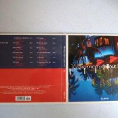 CDs de Música: CD THE MIAMI CHILLOUT LOUNGE. Nº 16 COLECCIÓN EL PAÍS, 2008.. Lote 257628270