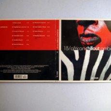CDs de Música: CD AFRICAN CHILLOUT AMBIENCE. Nº 18 COLECCIÓN EL PAÍS, 2008.. Lote 257629105