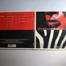 CDs de Música: CD AFRICAN CHILLOUT AMBIENCE. Nº 18 COLECCIÓN EL PAÍS, 2008.. Lote 257629305