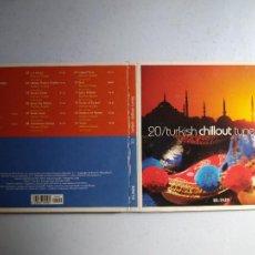 CDs de Música: CD TURKISH CHILLOUT TUNES. Nº 20 COLECCIÓN EL PAÍS, 2008.. Lote 257629610