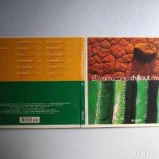 CDs de Música: CD MEXICANA CHILLOUT MIXTURA. Nº 21 COLECCIÓN EL PAÍS, 2008.. Lote 257629785