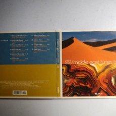 CDs de Música: CD MIDDLE EAST TUNES TO CHILLOUT. Nº 22 COLECCIÓN EL PAÍS, 2008.. Lote 257629960