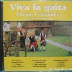 CDs de Música: VIVA LA GAITA - SILVINO FERNÁNDEZ / ANDRESÍN DE INSIERTO - CD. Lote 257631225