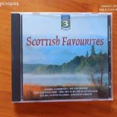 CDs de Música: CD SCOTTISH FAVOURITES - CD 3 (5P). Lote 257633200
