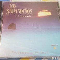 CDs de Música: LOS SABANDEÑOS A LA LUZ DE LA LUNA CD 1990. Lote 257648995