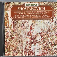 CDs de Música: CD. SHOSTAKOVICH. MANUSCRIPTS OF DIFFERENT YEARS. Lote 257690365