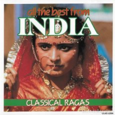 CDs de Música: ALL THE BEST FROM INDIA - CLASSICAL RAGAS - CD. Lote 257701155