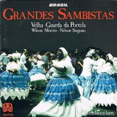 CDs de Música: VELHA GUARDA DA PORTELA, WILSON MOREIRA, NELSON SARGENTO - GRANDES SAMBISTAS - CD. Lote 257709025