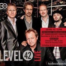 CDs de Música: LEVEL 42 – LIVE - CD + DVD - NUEVO Y PRECINTADO. Lote 257711525