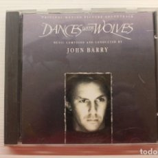 CDs de Música: CD *DANCES WITH WOLVES COMPOSITOR Y DIRECTOR JOHN BARRY* 1990 SONY MUSIC ORION. Lote 257724320