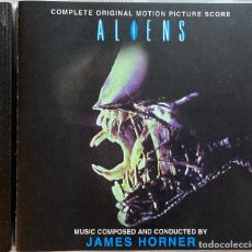 CDs de Música: ALIENS / JAMES HORNER CD BSO - PROMO. Lote 257741830